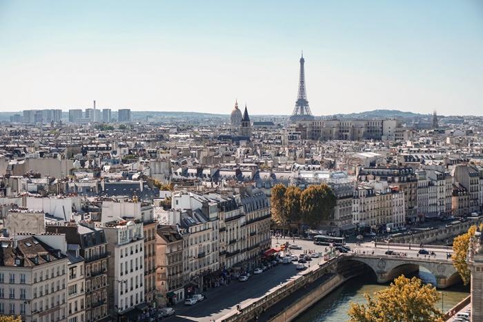 パリの町並み