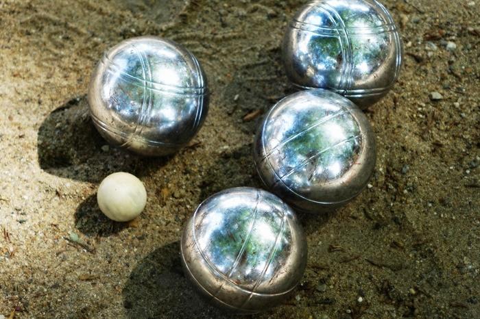 ペタンクの球(ブール)
