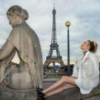 パリのファッションモデル