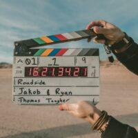 映画の撮影